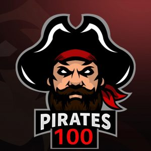 Pirates 100 Log0